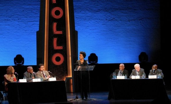 "The Apollo Theater opened its doors again for the second installment of the ""Uptown Hall""..."