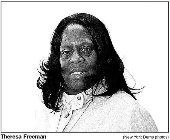 Theresa Freeman is one of the leading ladies of Rev. Al Sharpton's National Action Network,...