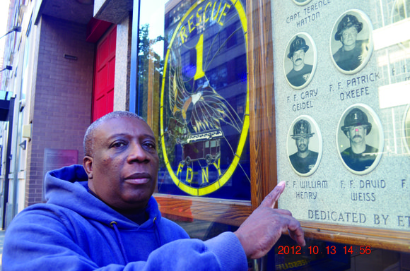 According to retired firefighter Al Benjamin, he was indoctrinated into the fire department when he...