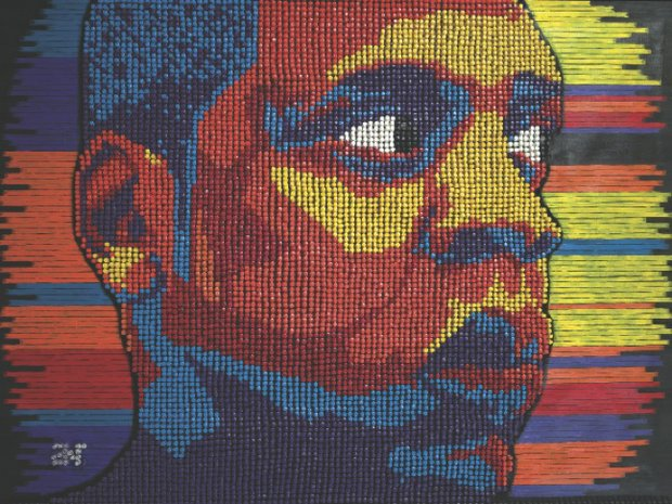 Artists use everyday materials to create masterpieces