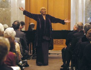 """Harlem Opera Theater fted founding member Barbara Smith Conrad and """"When I Rise,"""" her documentary..."""