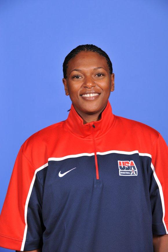 Geno Auriemma, the coach of the U.S. women's Olympic basketball team, said Asjha Jones, the...
