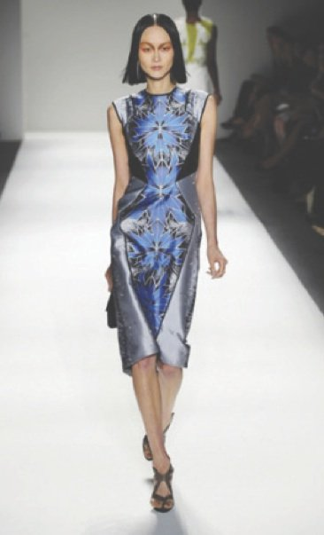 Soft, sumptuous eveningwear for spring '13