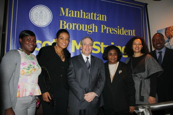 Recently at Chocolat Restaurant and Lounge in Harlem, Manhattan Borough President Scott Stringer held his...