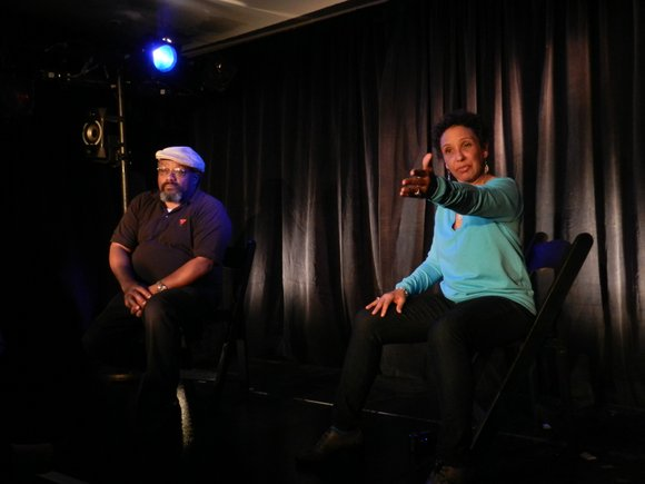 On March 28-31, Harlem's La Maison d'Art transformed its gallery into a black box theater...
