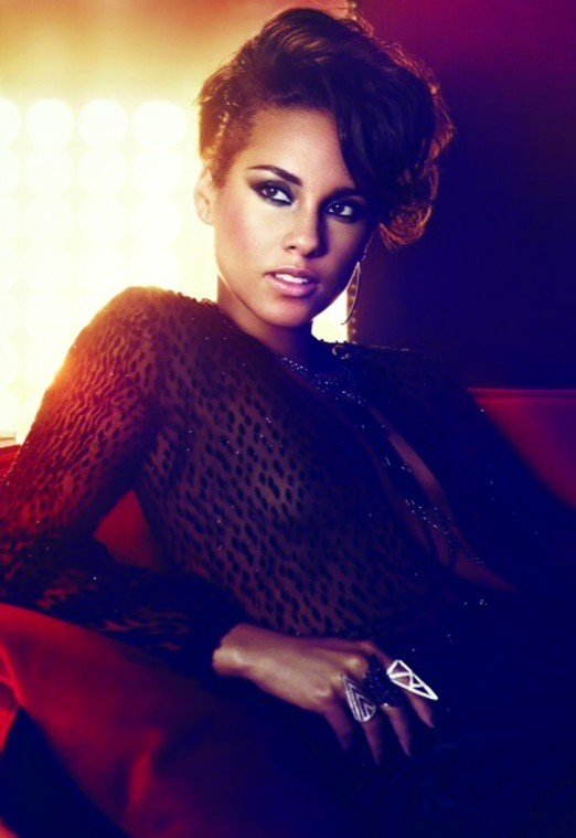 Alicia Keys is on fire. And she is hotter than hot. She is sizzling! Luminously....
