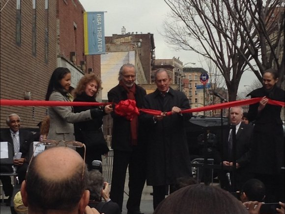 Monday began the dawn of a new era for the Harlem School of the Arts....