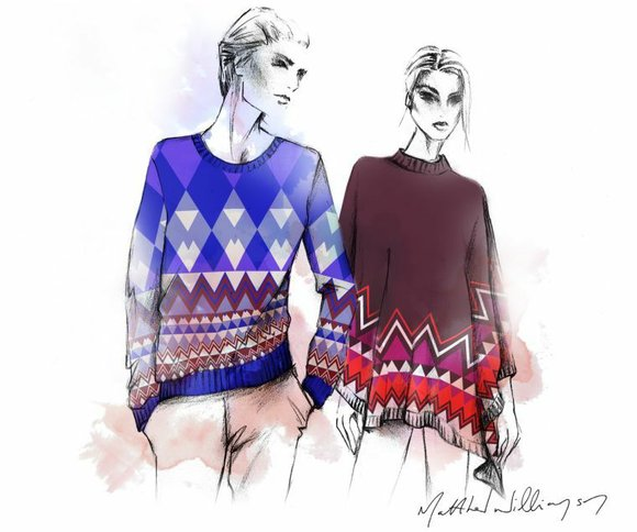 For next fall and winter, Ballantyne Cashmere has started a new collaboration with British fashion...
