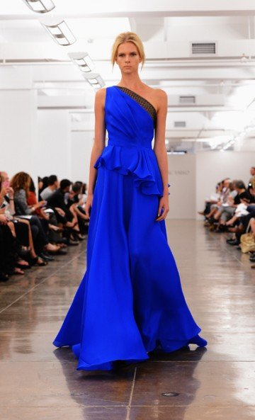 Carmen Marc Valvo always comes through with a spectacular collection, and this season he didn't...