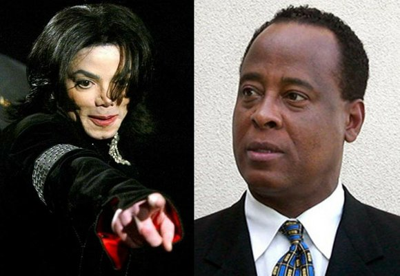 Members of Michael Jackson's family filed out of the courthouse in downtown Los Angeles following...