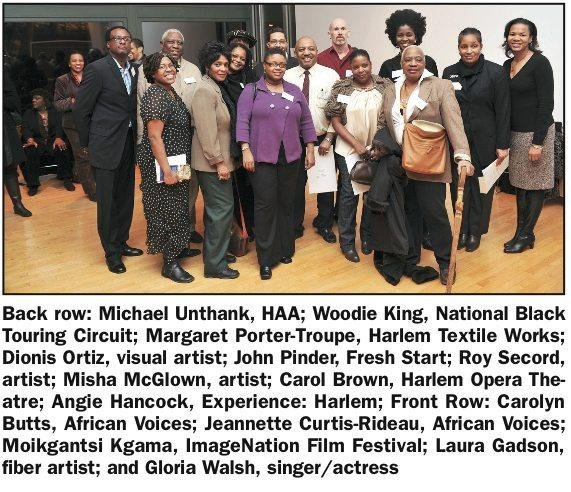 The Harlem Arts Alliance held its first Membership Celebration Monday night at the Malcolm X...