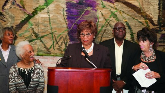 The Interchurch Center was the scene of a gathering of the cream of Harlem's artistic...