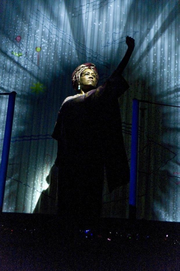 "Patti LaBelle as Funmilayo in Broadway's ""Fela!"" (Monique Carboni photos)"