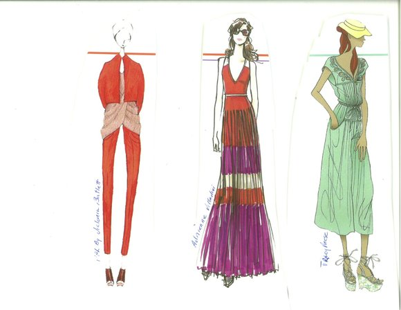 Diverse influences have inspired designers for spring 2012. They showcase a range of styles and...