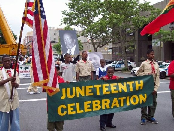 The Juneteenth Committee of Masjid Malcolm Shabazz and the Martin Luther King Jr. Center New York Support Group hosted the ...