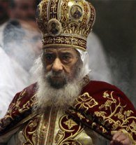 Mar. 20 (GIN) - Amidst much sobbing and wailing, followers of Pope Shenouda, the spiritual...