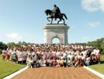 On June 28, at 10:00am at Hermann Park, in Houston, Texas, over 350 Houston Metropolitan Area Chapter members of Alpha ...