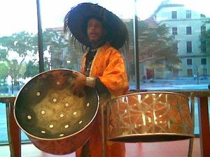 Shinar, a unique steel drum player, composer, conductor and instructor, is the only known steel drummer is on a mission ...