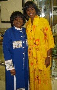 Award winning singer/composer Rosephanye (pronounced ro-SEH-fuh-nee) Powell was warmly welcomed by legendary gospel singer Shirley Caesar to Pastor Caesar's Mount ...