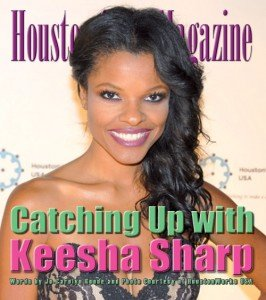 When she entered the room, she was wearing jeans, a tank top, blazer, and heels. Keesha Sharp appeared to be ...
