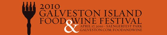 The inaugural Galveston Island Food and Wine Festival will be held in historic downtown Galveston April 16th & 17th. This ...