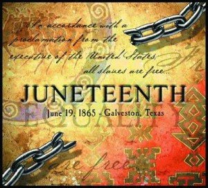 """Juneteenth is the oldest known celebration of the ending of slavery in the United States."""