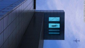 Holiday Inn Shanghai Pudong Kangqiao's swimming pool has an exceptional view, as the image above shows.