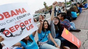 """[caption id=""""attachment_67953"""" align=""""alignnone"""" width=""""300"""" caption=""""Immigrants' high hopes on Obama policy.""""]"""