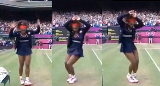 Serena Williams did more than win a gold medal on Centre Court at the All England Lawn Tennis and Croquet ...